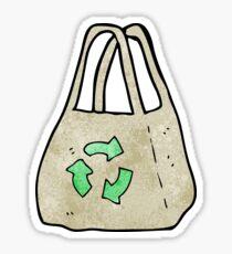 reusable bag cartoon Sticker