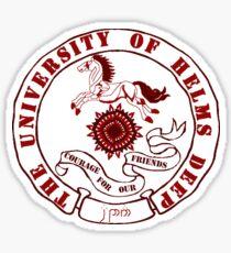 University of Rohan Sticker