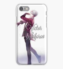Victor Nikiforov iPhone Case/Skin