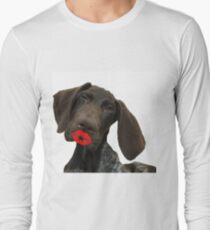 a kiss from Glossy Grizzly Long Sleeve T-Shirt