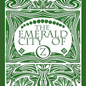 The Emerald City of Oz by tinybuffalo