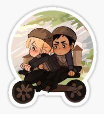 countryside ride Sticker