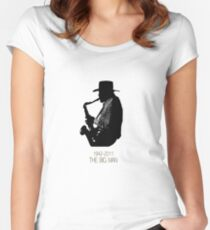 The Big Man Women's Fitted Scoop T-Shirt