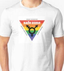 LGBT+ Safe Zone Equality Unisex T-Shirt