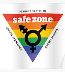 LGBT+ Safe Zone Equality Poster