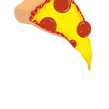 Pepperoni Pizza Slice by NeilHonky
