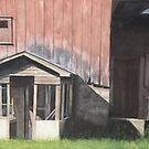 Barn near Scandia, Minnesota by Betsy Ellis