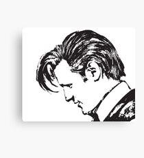 Matt Smith as The Doctor Canvas Print