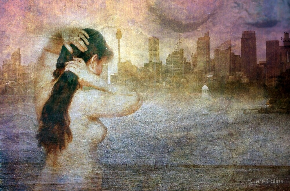 Sydney City Mermaid by Clare Colins