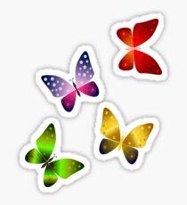 Float like a Butterfly Sticker