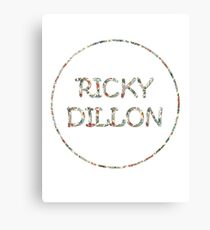 Ricky Flowers Canvas Print