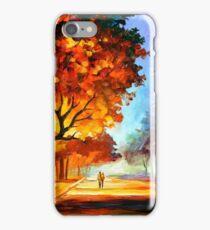 FLAMING NIGHT - Leonid Afremov iPhone Case/Skin