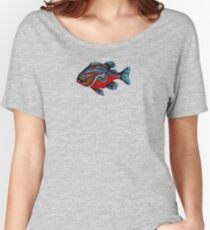 Wild Warmouth Fishy  Women's Relaxed Fit T-Shirt