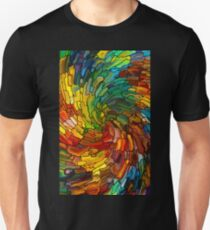 Stained GLass Colorful T-Shirt