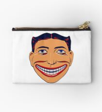 Steeplechase Face Coney Island Studio Pouch