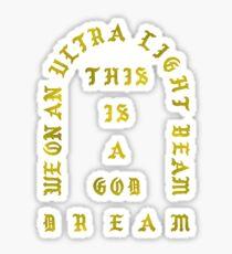 Ultra Light Beam Kanye West Sticker