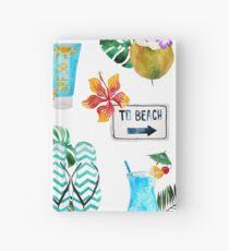 Summer Essentials Hardcover Journal