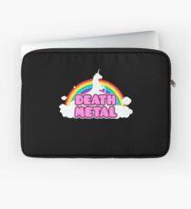 Unicorn Rainbow Death Metal Laptop Sleeve