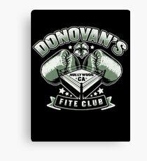 Fite Club Canvas Print