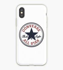 Converse All Star Logo iPhone Case