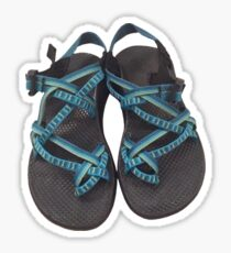 A pair of Chacos Sticker