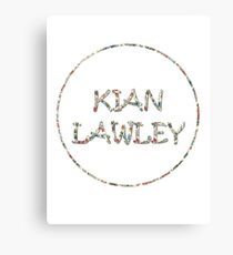 Kian Flowers Canvas Print