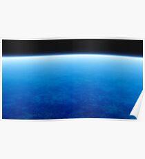 ocean at planet Poster