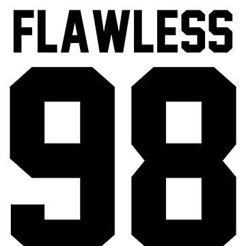 Flawless '98 - Jersey Tee + Phone Case by jezzhands