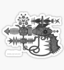 SMART GUNS: MODEL ZAP GUN-HX3 Sticker