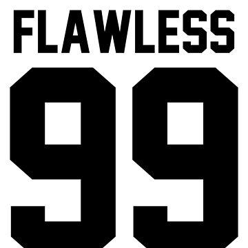 Flawless '99 - Jersey Tee + Phone Case by jezzhands