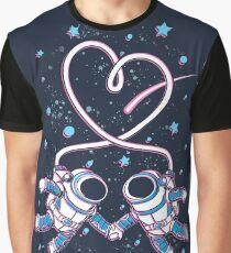 Raum Liebe Grafik T-Shirt
