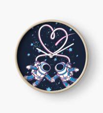 Space Love Clock