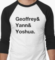 Deep learning conspiracy (Hinton,LeCun,Bengio) Men's Baseball ¾ T-Shirt