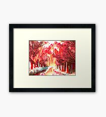 Eyes of the Guardians Framed Print