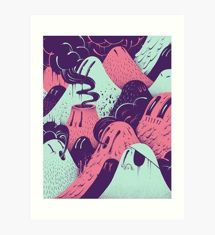 Lavalumps Art Print
