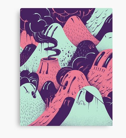 Lavalumps Canvas Print