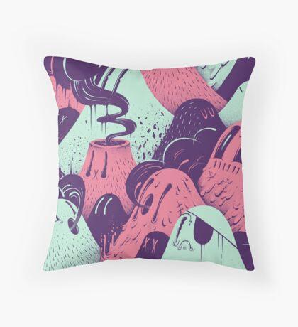Lavalumps Throw Pillow