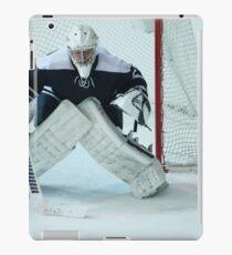 Hockey goalkeeper  iPad Case/Skin