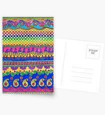 Color Borders Galore Postcards