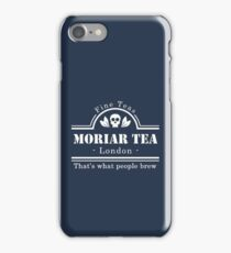 MoriarTea: What People Brew (white) iPhone Case/Skin