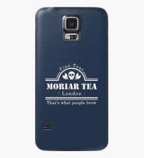 MoriarTea: What People Brew (white) Case/Skin for Samsung Galaxy
