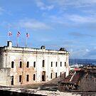 Old San Juan by Paula Bielnicka