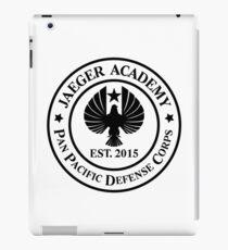 Jaeger Academy logo in black! iPad Case/Skin