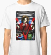 V TV Show Visitor Alien Diana  Classic T-Shirt