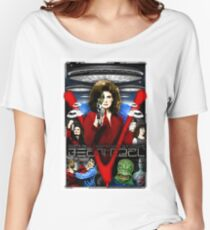 V TV Show Visitor Alien Diana  Women's Relaxed Fit T-Shirt