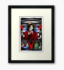 V TV Show Visitor Alien Diana  Framed Print