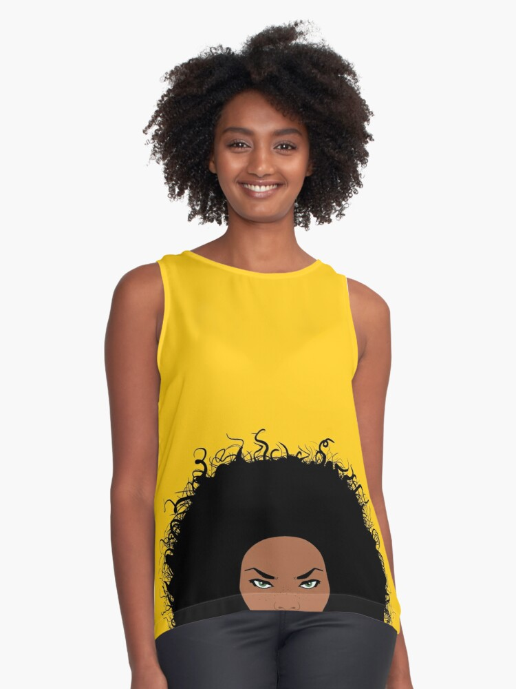 Lola Contrast Tank Front