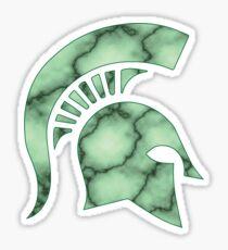 Marble Spartan Sticker