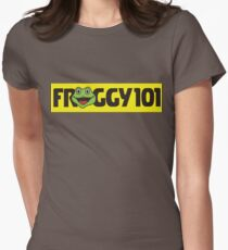 Froggy 101 The Office Womens Fitted T-Shirt