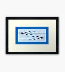 Crossing Bullets Framed Print